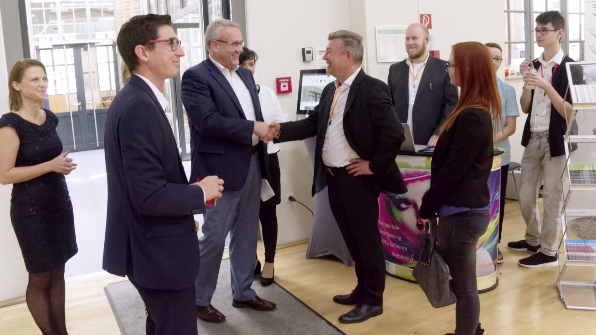 WUNDS Digitaltag 2018 - Landrat Götz Ulrich