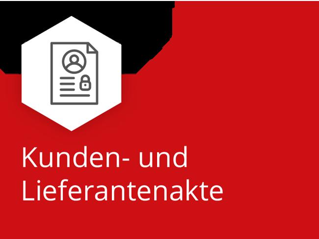 Kunden- & Lieferantenakte